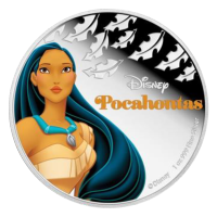 1 oz 2016 Disney Princess Pocahontas Silver Coin