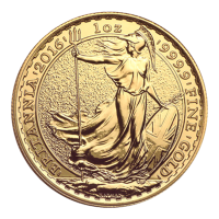 1 oz Goldmünze - Britannia - 2016