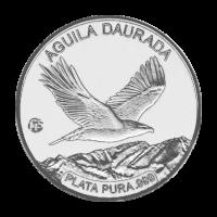 Polierte Platte Silbermünze Andorra Steinadler F15 Sonderprägezeichen 2012