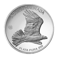 2013 Andorra Golden Eagle F15 Privy Zilveren Proof Munt