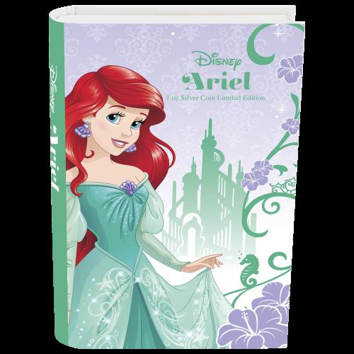1 oz Silbermünze - Disney Prinzessin Ariel - 2015
