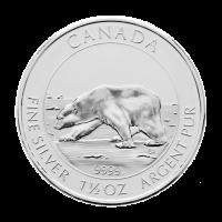 1,5 oz kanadische Silbermünze - Zufallsjahr