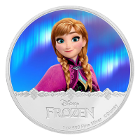 1 oz 2016 Disney Frozen | Anna Silver Proof Coin
