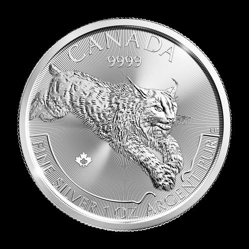 1 oz 2017 Predator Series | Lynx Silver Coin