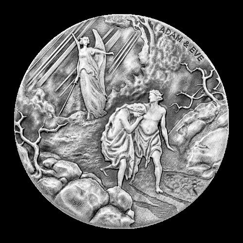 """Das Abbild von Königin Elisabeth II. nach Raphael Maklouf und die Worte """"Queen Elizabeth II Niue Two Dollars 2 oz 999 Fine Silver 2016"""""""