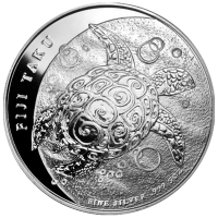 Moneda de Plata Fiji Taku 2011 de 5 oz
