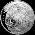 5 oz 2011 Fiji Taku Silver Coin