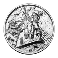 2 oz Privateer Collection | The Plank Ultra High Relief Silver Round