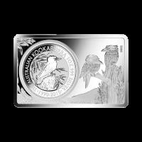 3 oz Silberbarren 25. Jubiläum der australischen Kookaburra Münze 2015