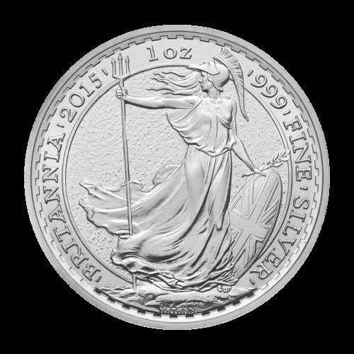 1 oz Silbermünze Britannia Jahr des Schafs Sonderprägezeichen Mondserie 2015