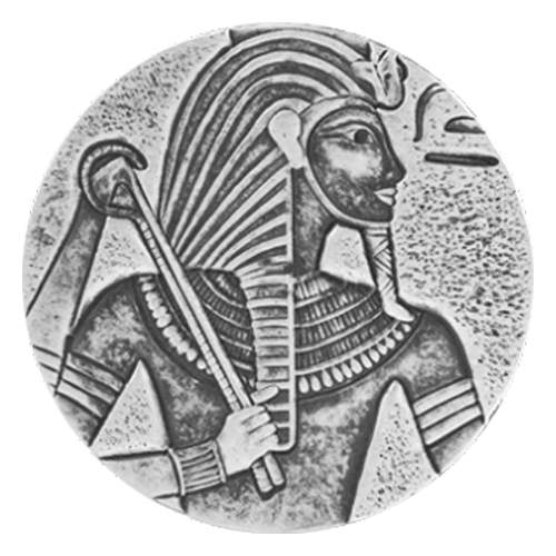 "Wappen der Republik Tschad und die Worte ""Republique du Chad 5 troy oz 999 fine silver 3000 Francs CFA"""