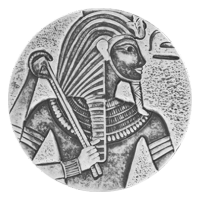 5 oz Silbermünze ägyptische Relikt Serie| König Tut - 2016