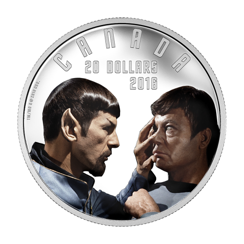 1 oz 2016 Iconic Star Trek™ Scenes | Mirror, Mirror Silver Proof Coin