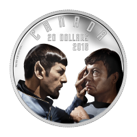1oz 2016 Iconic Star Trek™ Scenes | Mirror, Mirror Silver Proof Coin