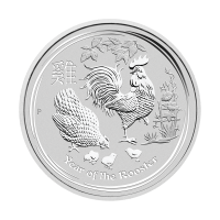 1/2oz 2017 Perth Mint Lunar Year of the Rooster Silver Coin