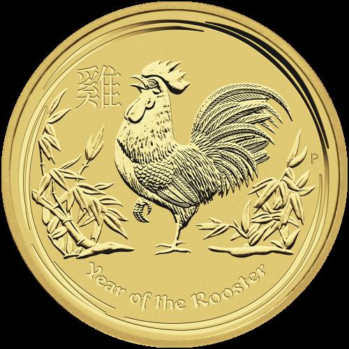 """Abbild von Königin Elisabeth II. mit den Worten """"Elizabeth II Australia 100 Dollars 1 oz 9999 Gold 2017"""""""