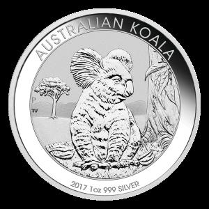 1 oz 2017 Australian Koala Silver Coin