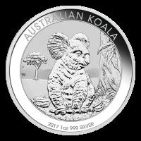 1 oz 2017 Australische Koala Zilveren Munt