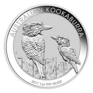 Moneda de Plata Cucaburra Australiano 2017 de 1 oz