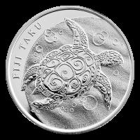 Moneda de Plata Fiji Taku 2011 de 1 oz