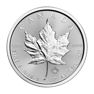1 oz 2017 Canadian Maple Leaf Silver Coin