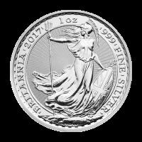 1 oz Silbermünze Britannia 2017
