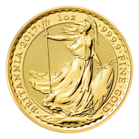 1 oz 2017 Britannia Gold Coin