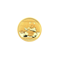 1 g 2017 Chinese Panda Gold Coin