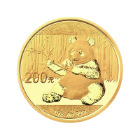 15 gram 2017 Chinese Panda Gold Coin