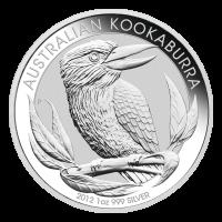 1盎司2012年澳大利亚笑翠鸟银币
