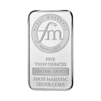 5 oz First Majestic Silver Bar