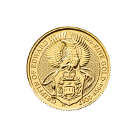 1/4 oz 2017 Royal Mint Queen's Beasts | Griffin of Edward III Gouden Munt