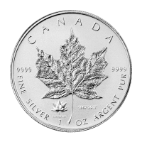 1oz 2017 Canadian Maple Leaf 150th Anniversary Privy Reverse Proof Silver Coin