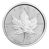 1 oz 2017 Canadian Maple Leaf Platinum Coin