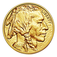1 oz 2017 Buffalo Gold Coin