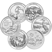 5 oz Our Choice of Assorted Sovereign Mint Uncirculated Silver Coin