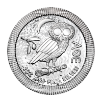 Srebna Moneta Stackable 1 oz 2017 Athenian Owl