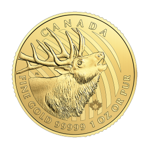 1 oz 2017 Call of the Wild Series | Elk Gold Coin