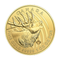 1 oz 2017 Call of the Wild Serie | Elk Gouden Munt