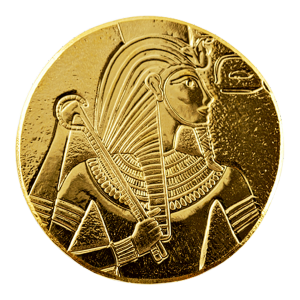 1 oz 2017 Egyptian Relic Series | King Tut Gold Coin