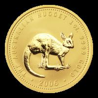 Pièce d'or Kangourou australien 2006 de 1 once