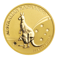 1 oz Goldmünze - australisches Känguru - 2009