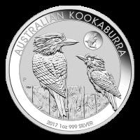 1盎司2017澳大利亚笑翠鸟鲨鱼密印银币