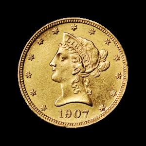 Willekeurig Jaar $10 Liberty Eagle AU Gouden Munt