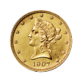 Random Year $10 Liberty Eagle AU Gold Coin