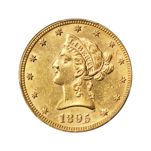 Random Year $10 Liberty Eagle MS-61 Gold Coin