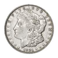 1921 Morgan Dollar VG+ Silvermynt