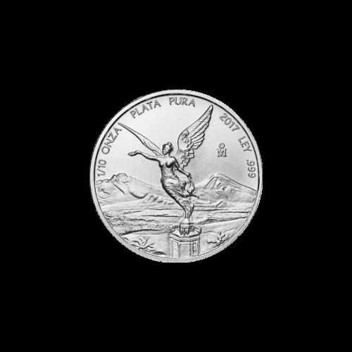 מטבע כסף ליברטד מקסיקאי שנת 2017 1/10 אונקיה
