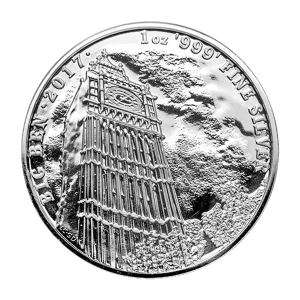 1 oz 2017 Landmarks of Britain | Big Ben Silver Coin