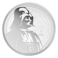 Stars Wars 2017 de 1 oz | Moneda de Plata Darth Vader